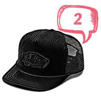 Vans Patch Trucker<br />baseball sapka