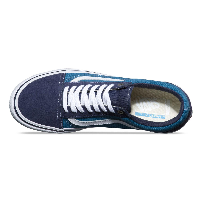 83ee07b63cb3 Vans férfi cipő - Old Skool Pro Navy/White V00ZD40NS- Coreshop.hu