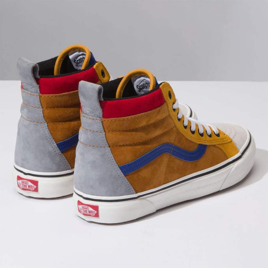 dbbb431b7b2cdd Vans férfi cipő - SK8-Hi MTE Sudan Brown Mazarine Blue VA33TXUC9 ...