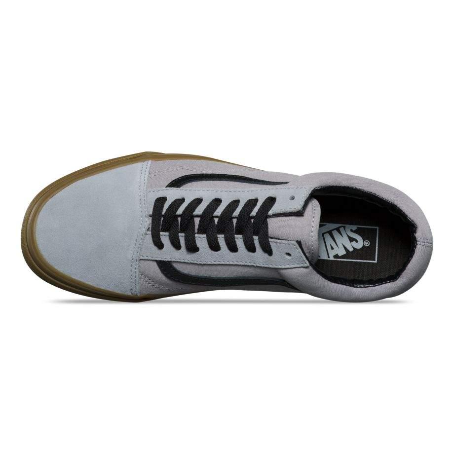 Vans Old Skool (Gum Outsole) AlloyBlack férfi cipő