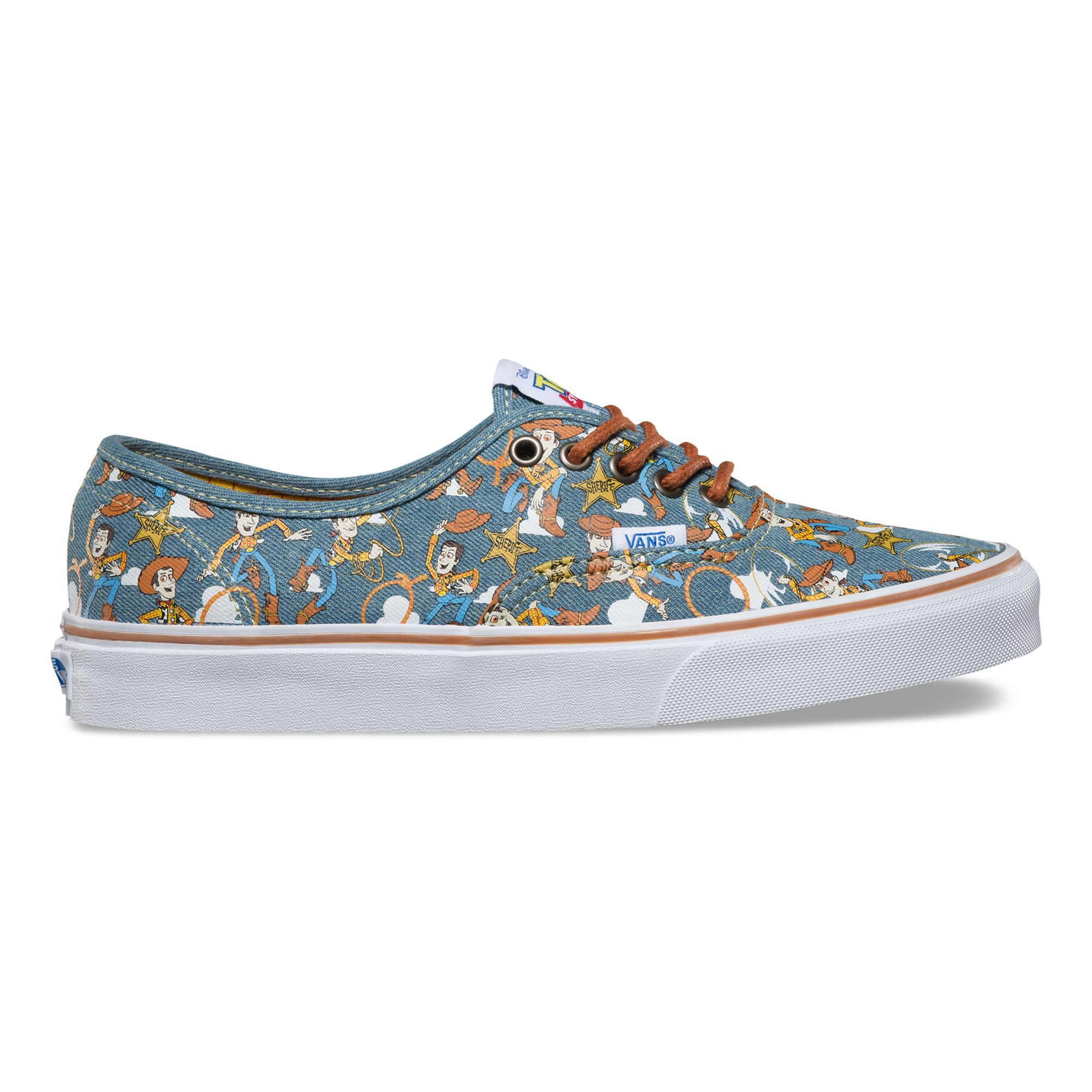 Vans Toy Story Authentic (Toy Story) WoodyTrue White férfi cipő
